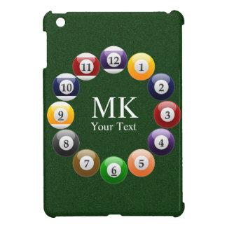 Billiard Balls Shiny Colorful Pool Snooker Sports iPad Mini Case
