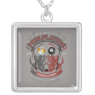 Billiard Lions Silver Plated Necklace