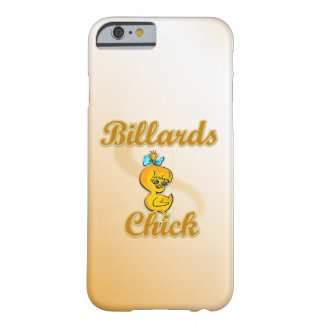 Billiards Chick Barely There iPhone 6 Case