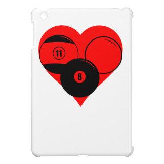 Billiards Heart iPad Mini Cases