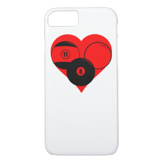 Billiards Heart iPhone 7 Case