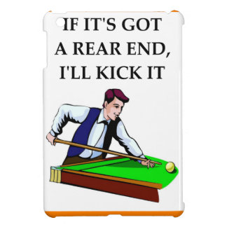 billiards iPad mini covers