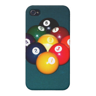 Billiards Nine Ball Cover For iPhone 4