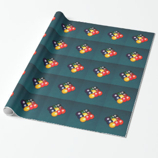 Billiards Nine Ball Wrapping Paper