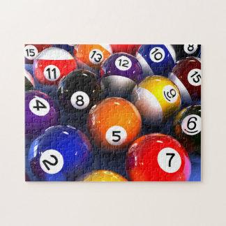 Billiards Pool Balls Photo Puzzle