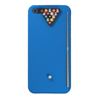 Billiards / Pool Table: Blue Felt: Case For The iPhone 5