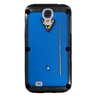 Billiards / Pool Table: Blue Felt: Samsung Galaxy S4 Cover