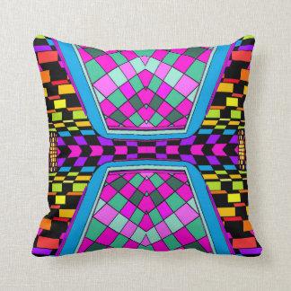 Billiards ReMix Pop Art Geometrix Designer Pillow