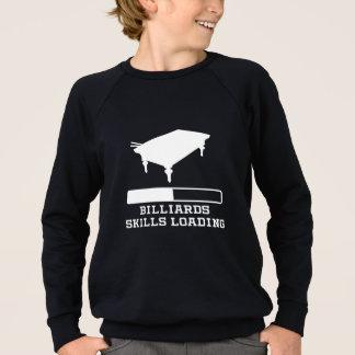 Billiards Skills Loading Sweatshirt