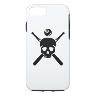 Billiards skull iPhone 7 case