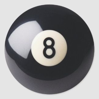 Billiards Snooker 8-Ball Stickers