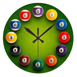 Billiards Snooker Novelty Clock