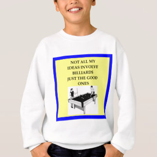 billiards sweatshirt