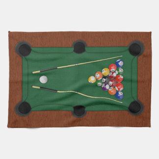 Billiards Tea Towel