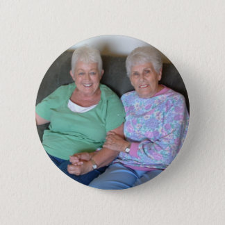 Billie and Jodell 6 Cm Round Badge