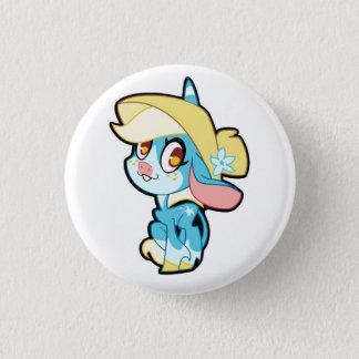 Billie on a button
