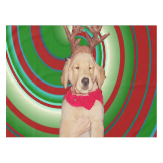 billie-the-golden-reindeer tablecloth