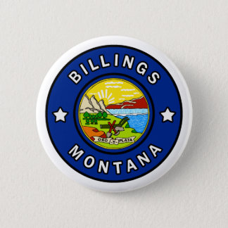 Billings Montana 6 Cm Round Badge