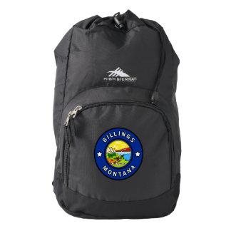 Billings Montana Backpack