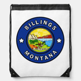 Billings Montana Drawstring Bag