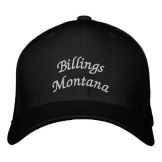 Billings Montana Embroidered Baseball Caps