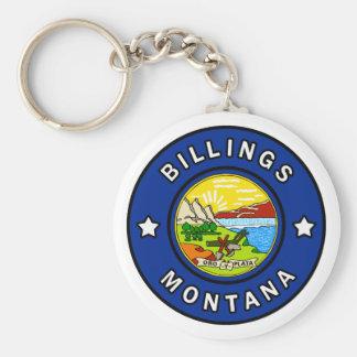 Billings Montana Key Ring
