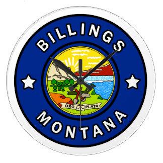 Billings Montana Large Clock