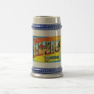 Billings Montana MT Old Vintage Travel Souvenir Beer Stein