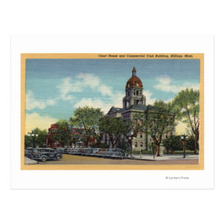 Billings, Montana Postcard