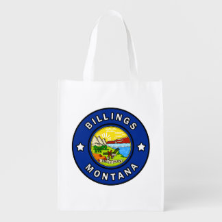Billings Montana Reusable Grocery Bag