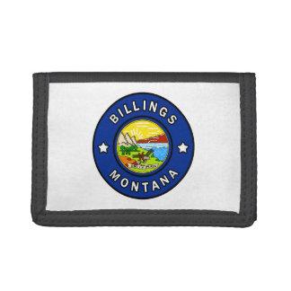 Billings Montana Tri-fold Wallet