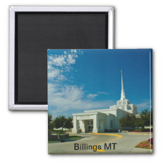 Billings MT LDS Temple Magnet
