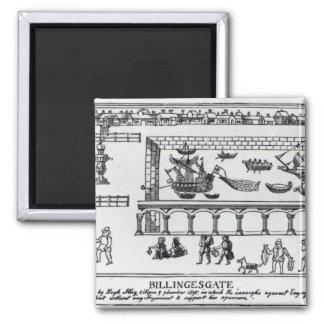 Billingsgate Market Square Magnet