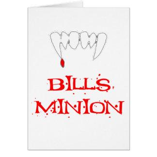 Bills Minion Greeting Card