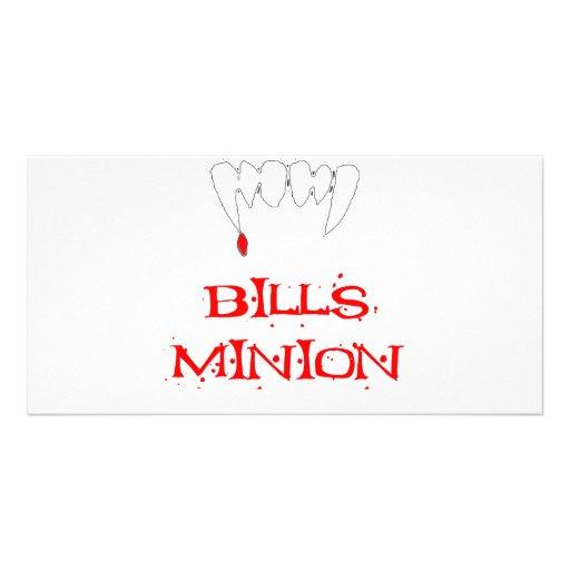 Bills Minion Picture Card