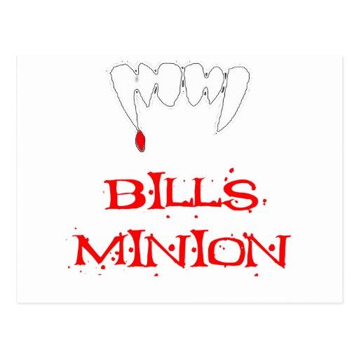 Bills Minion Post Cards