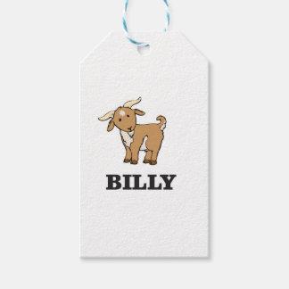 billy goat farm animal gift tags