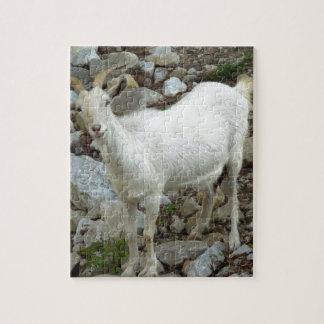 Billy Goat Jigsaw Puzzle