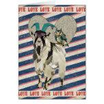 Billy Goat & Owl Love Card