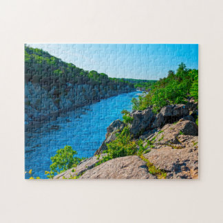 Billy Goat Trail River Gorge. Jigsaw Puzzle