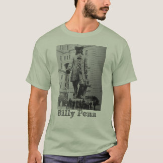 Billy Penn Tee celebrates founder of Philadelphia