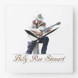 Billy Rae Stewart Wall Clock