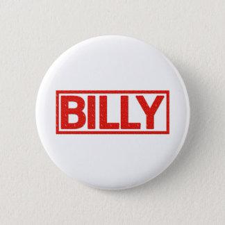Billy Stamp 6 Cm Round Badge
