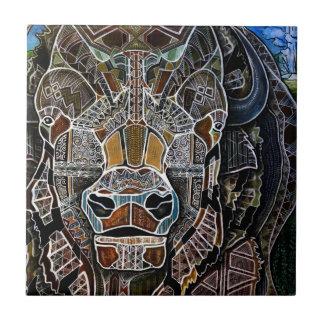 Billy the Bison Ceramic Tile