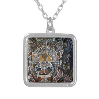 Billy the Bison Silver Plated Necklace