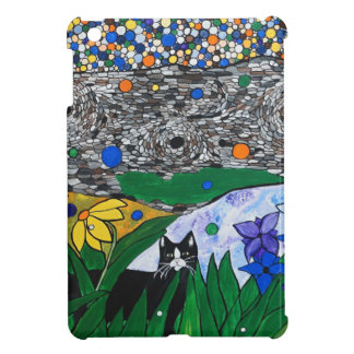 billy the cat and his secret garden iPad mini cases
