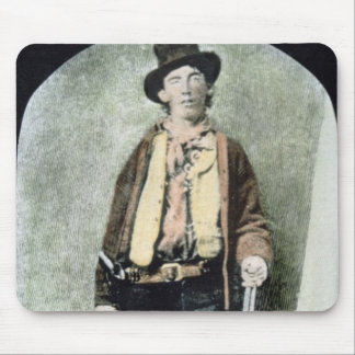 Billy the Kid (coloured engraving) Mouse Pad