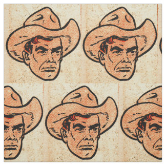 Billy the Kid comics Western hero print Fabric