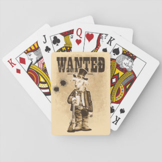 Billy the Kid Playing Cards