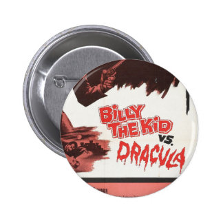 Billy the Kid versus Dracula Tag Button